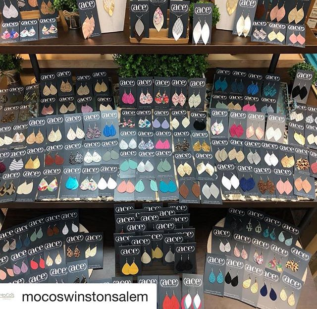 #Repost @mocoswinstonsalem with @get_repost ・・・ We are fully stocked on our @acearrings ! Come shop with with us tonight until 8pm✨