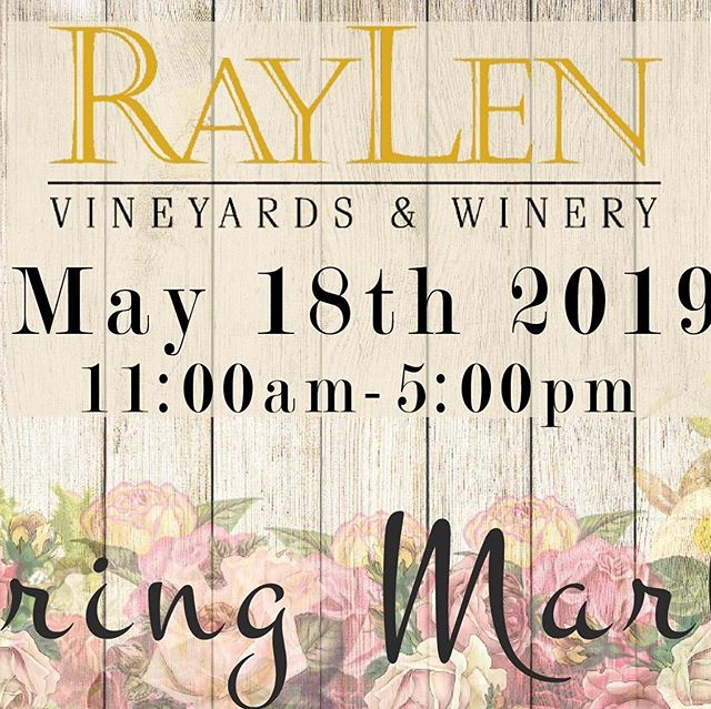 T O D A Y 😁😁😁 Come see us at @raylenvineyardsnc for the Spring Market from 11-5! We are giving out free ace fans with every purchase! #springmarket #bringafriend #saturdayfun
