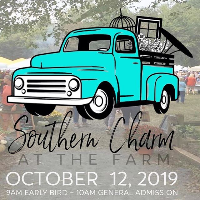 Mark your calendars! We are excited to be returning to our favorite show this Fall! @southerncharmatthefarm @kellibenfield