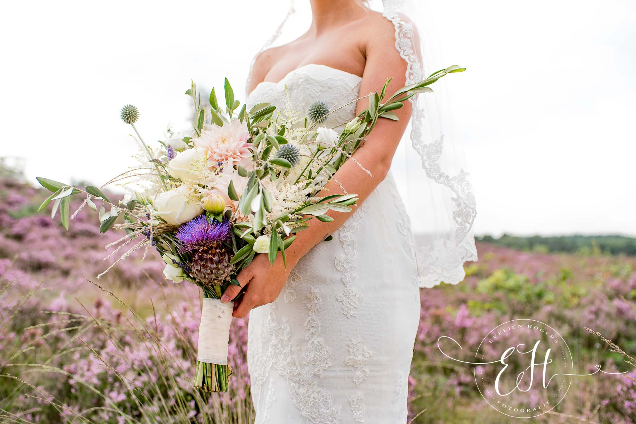 Bruidsboeket: The Bridal Blush | Foto: Evelien Hogers Fotografie