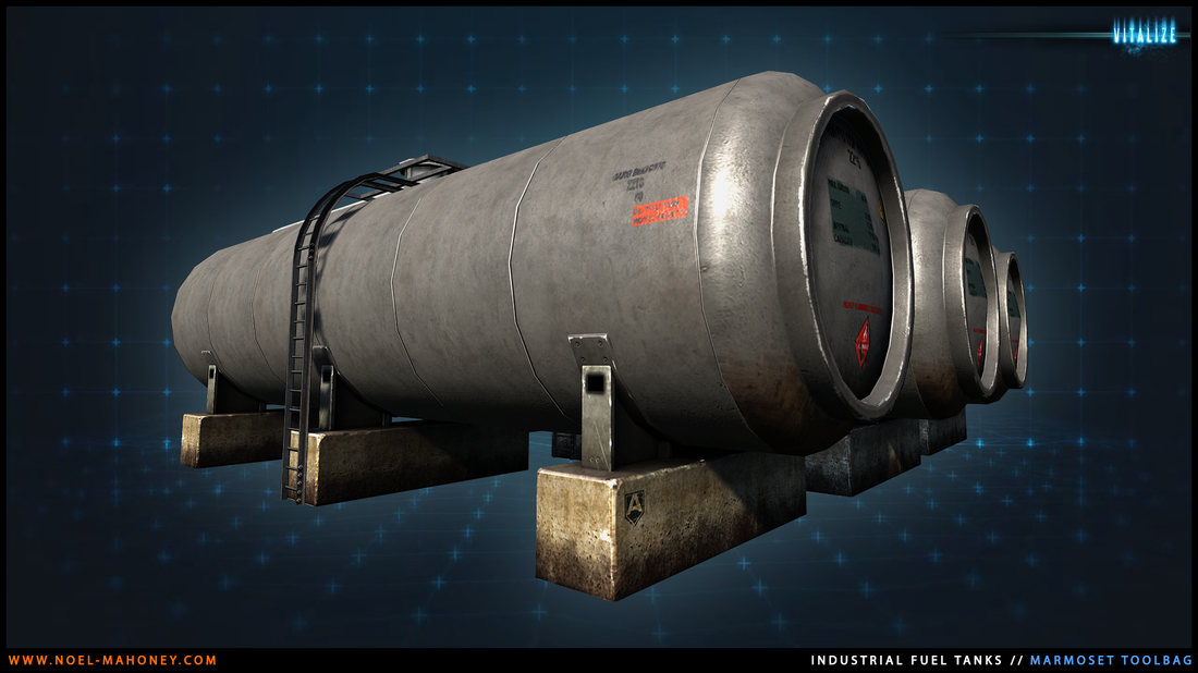 Game Optimised Gas Container