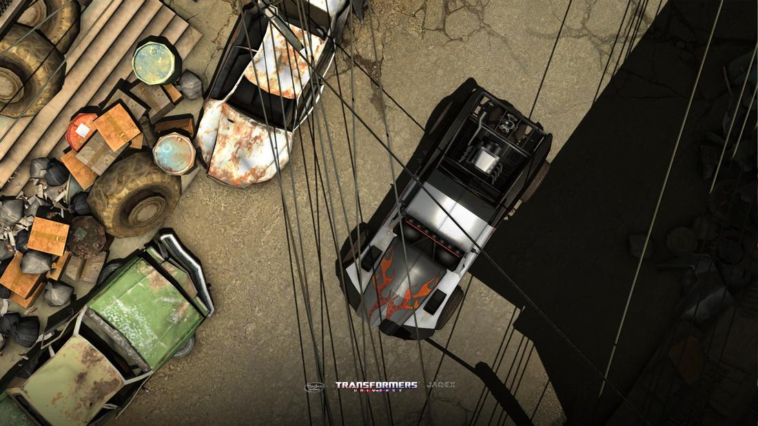 Crushed Sedan as seen in game