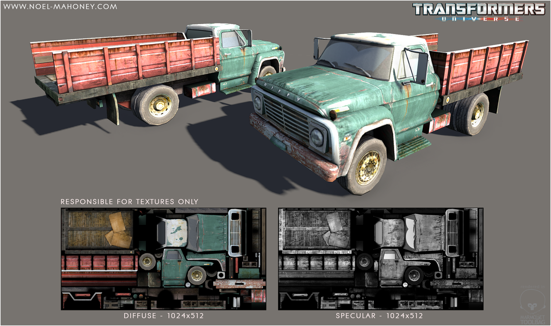 Retextured Truck (not responsible for Modelling)