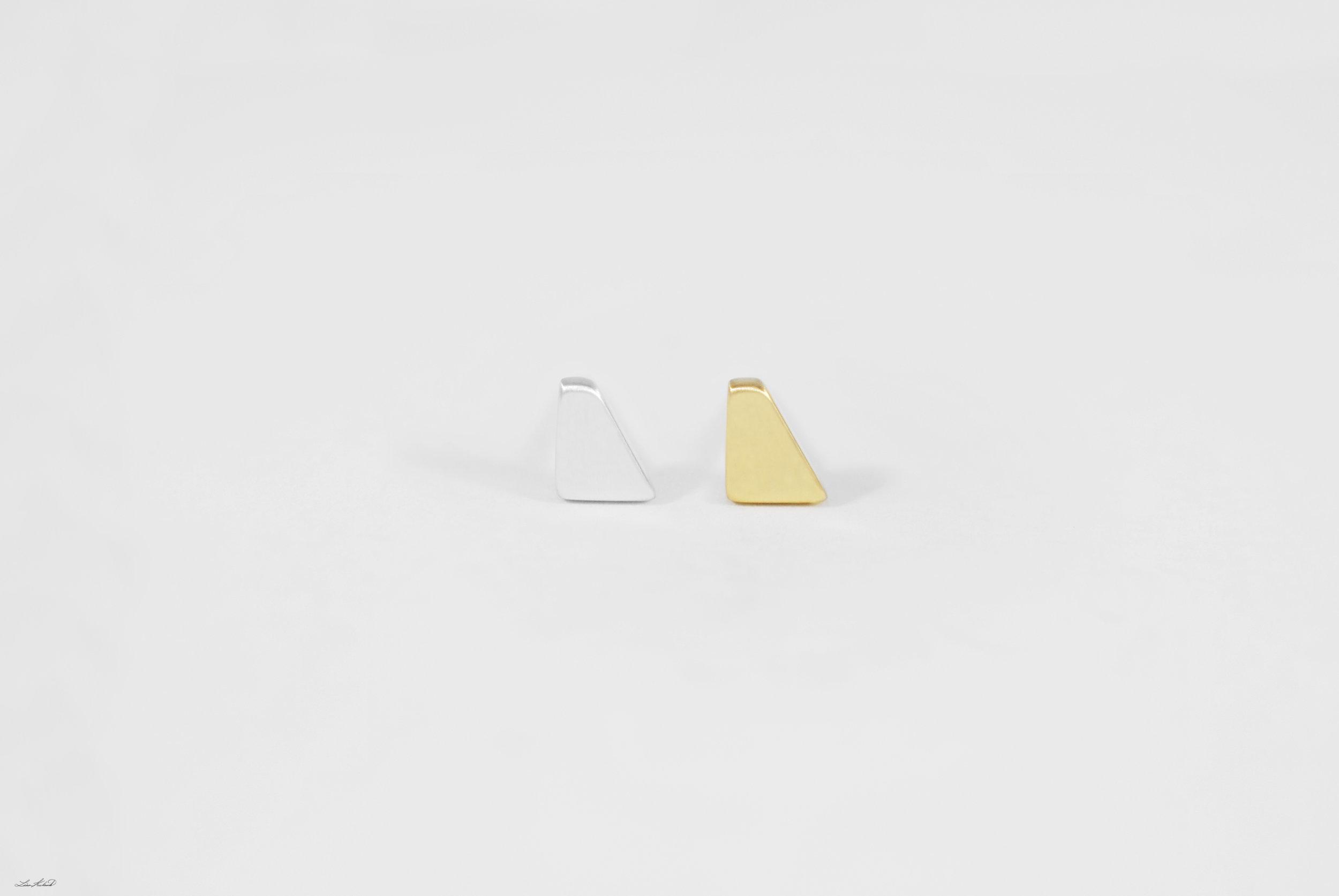 silver & gold rhombus studs.jpg