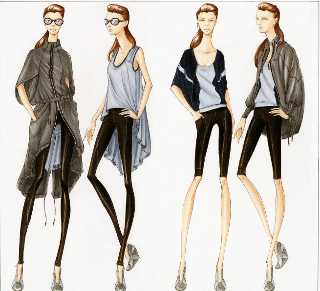 Draw A Collection Camp Fashionista