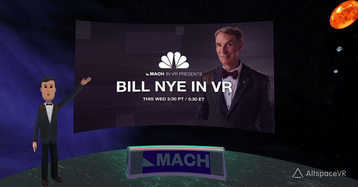 Bill Nye in VR from NBC MACH