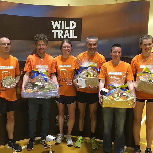 Congrats to all our winners and King and Queen of the Hill at this year's #KyminDash - and round of applause to all 350 runners brave enough to tackle the climb!! #wildtrail #monmouth