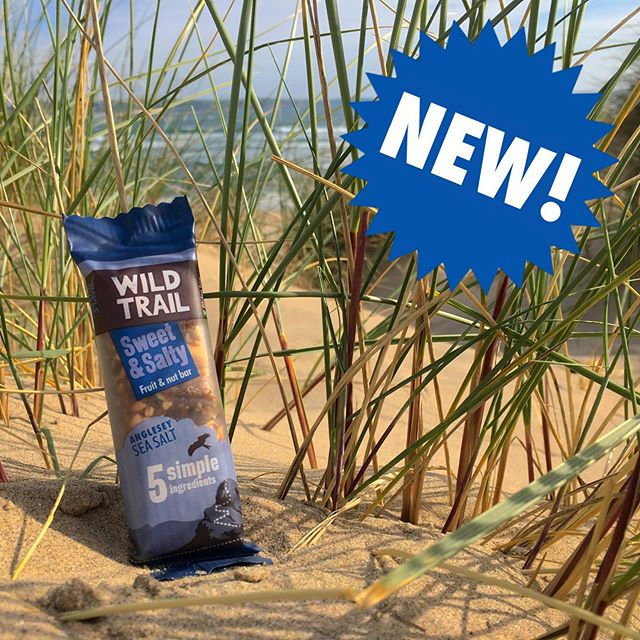 NEWSFLASH!  We've launched our new Wild Trail Sweet & Salty snack bar!  Made with @halenmon Anglesey sea salt – our deliciously moreish new fruit and peanut bar features only five simple, natural ingredients just like the other bars in the Wild Trail family.  Our Sweet & Salty bars are available to buy online now – http://wildtrail.co.uk/shop – plus we're giving away 100 sample packs in our launch competition. Enter online for your chance to win [paste URL into browser]: http://wildtrail.co.uk/competitions 🏄 🎉 ⛰️ 🌊 🏄 🎉 ⛰️ 🌊 #sweet #salty #newflavour #newbar #launch #brandnew #natural #simple #cleanlabel #halenmon #angleseyseasalt #glutenfree #dairyfree #noaddedsugar #vegetarian #vegan #highinfibre #madeinwales #madeinuk #simpleoutdoorenergy #wildtrail #competition #win