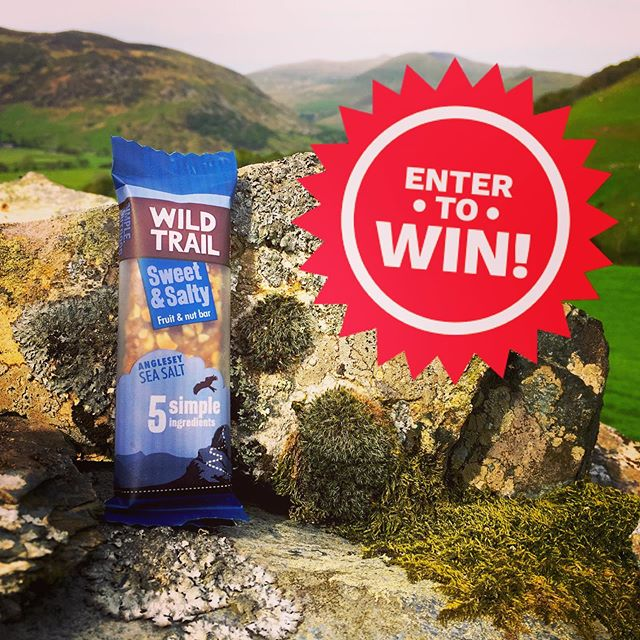 WIN! To celebrate the launch of our new Sweet & Salty bar we're offering sample packs to 100 lucky winners! Simply click our profile URL or paste the following into your browser - http://wildtrail.co.uk/competitions - and enter your details for your chance to win!  Our new Sweet & Salty bars are a taste sensation - packed full of crunchy peanuts, succulent raisins, wholesome oats, a drop of 100% apple juice... and a pinch of fantastic @halenmon Anglesey sea salt.  Perfect for your Wild Trails! (Competition closes midday UK-time Wed 5 Jun 2019 - T&Cs available on website). #freebiefriday #win #competition #giveaway #wildtrail #halenmon #angleseyseasalt #snackbar #glutenfree #dairyfree #noaddedsugar #vegetarian #vegan #highinfibre #natural #cleanlabel #madeinwales #madeinuk