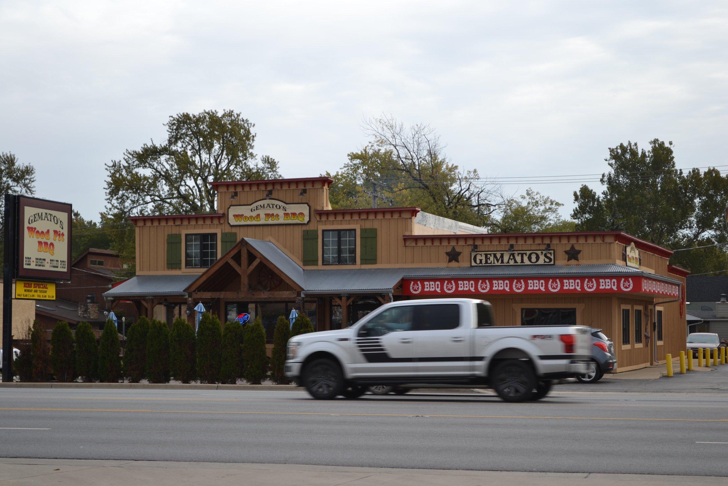 GematosWood Pit BBQ, Naperville, IL