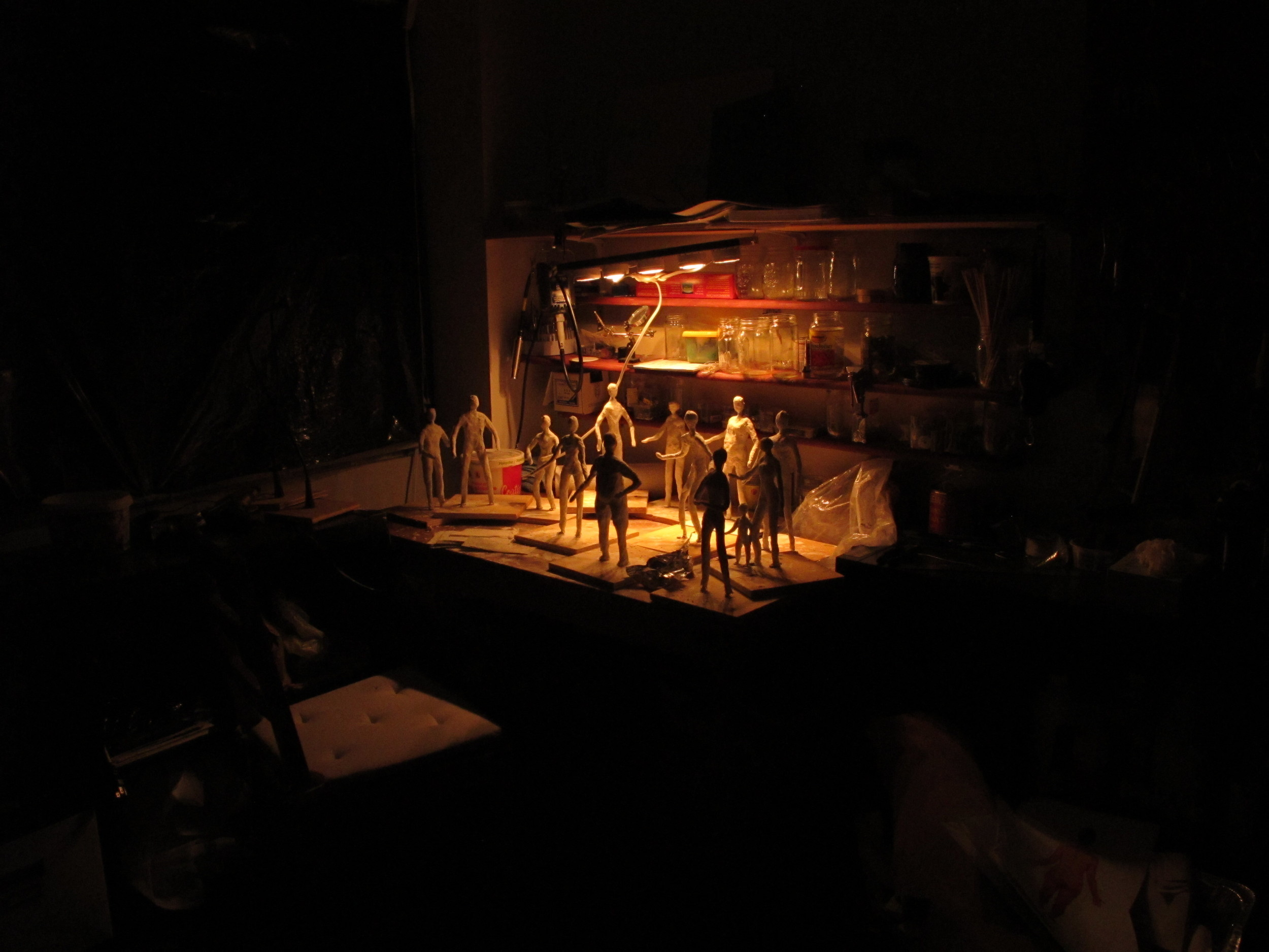 Studio shot c.2012