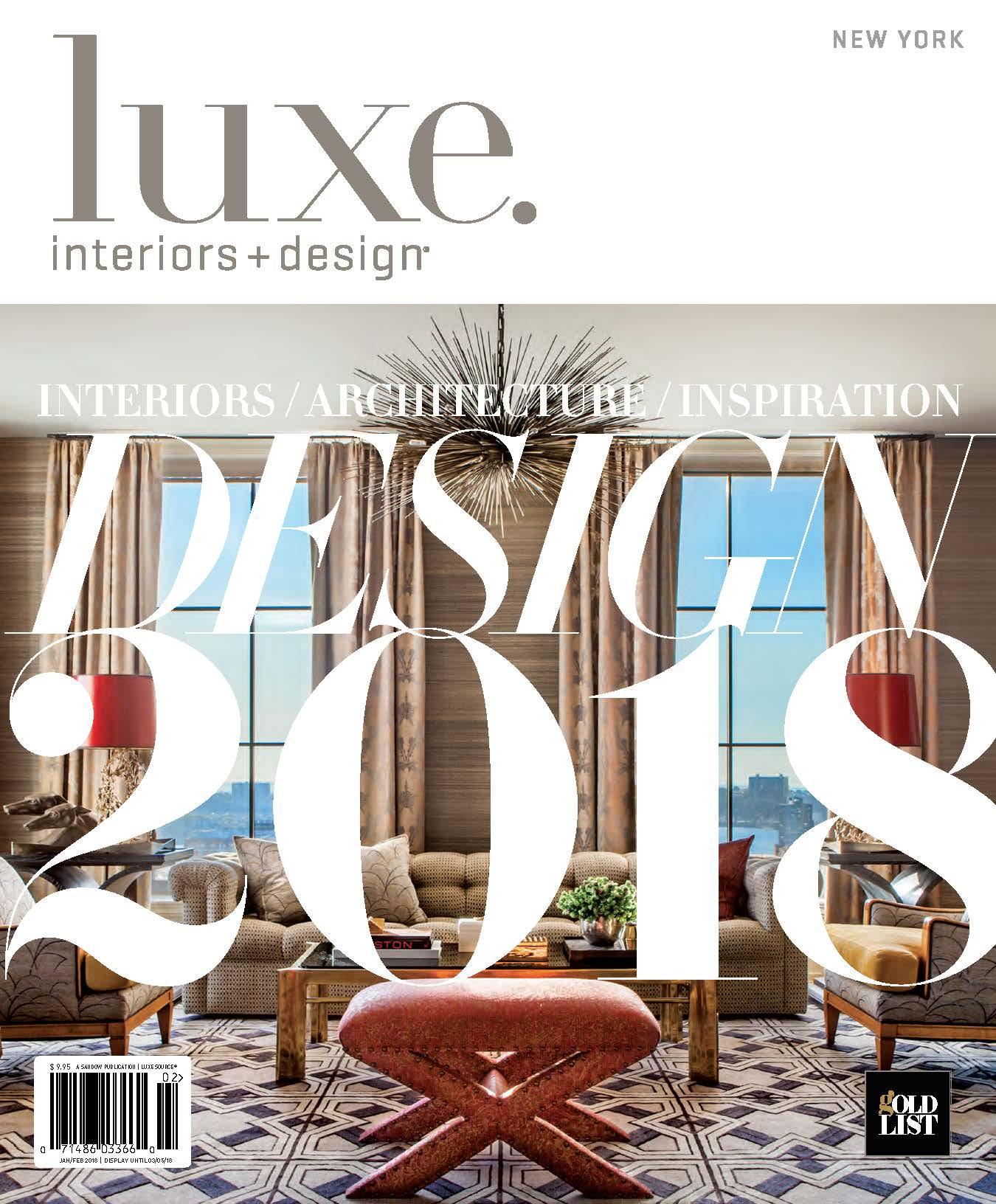 luxe. Jan/Feb 18