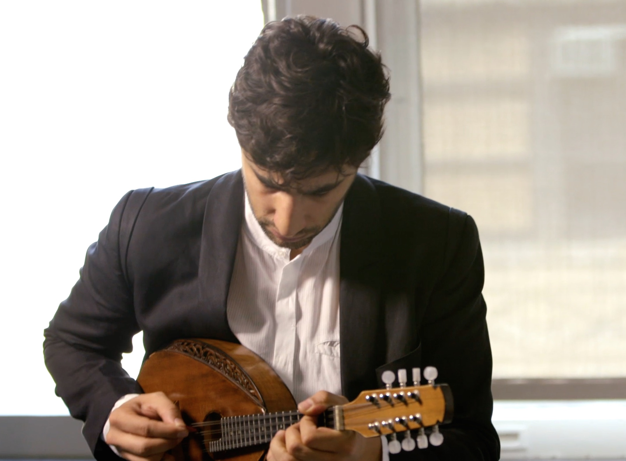 Carnegie Hall   Web Content // Debut Artist Avi Avital   Creative, Directing, Shoot, Post Production
