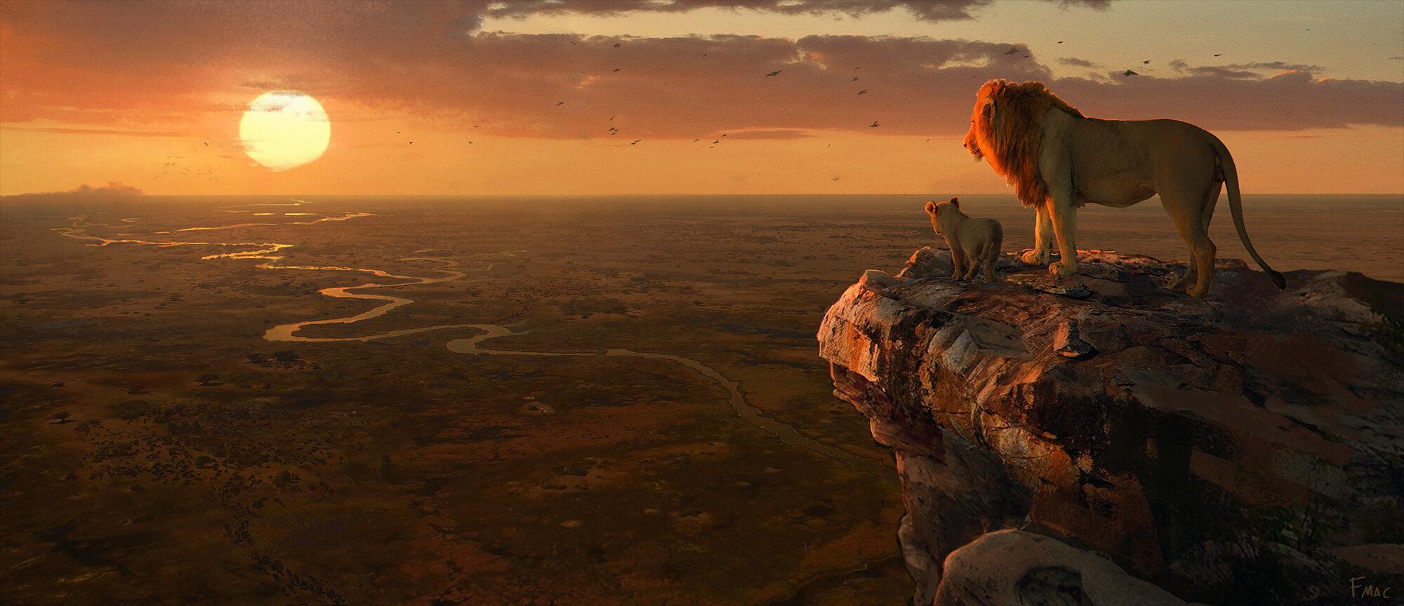 Lion King 2019 Concept Art Finnian Macmanus