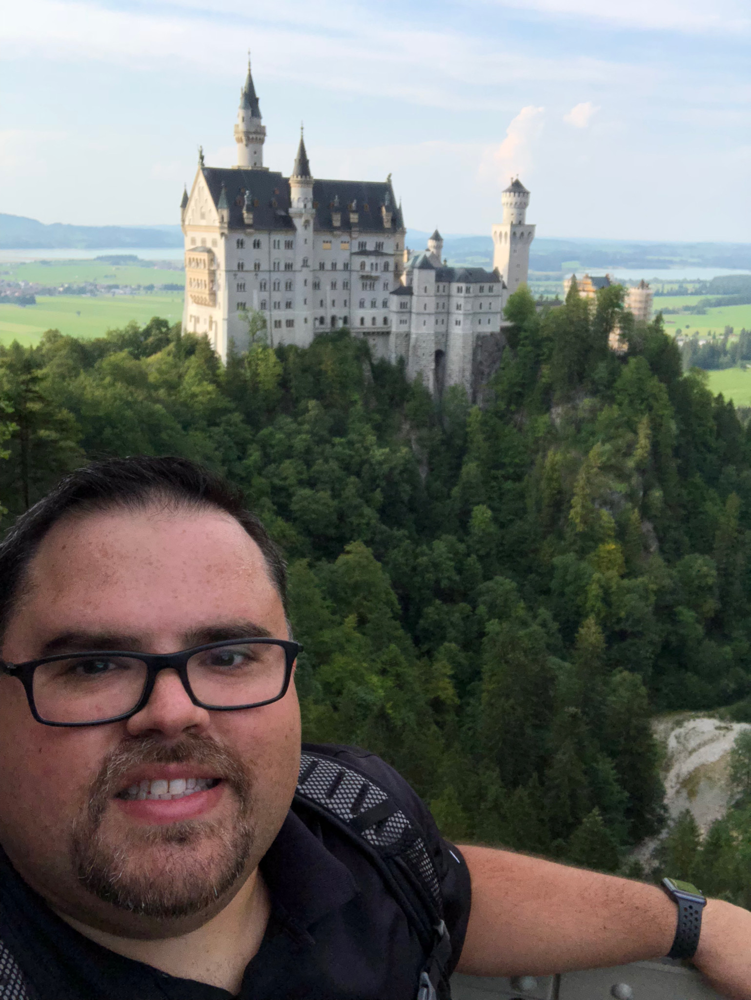 Me and Neuschwanstein Castle