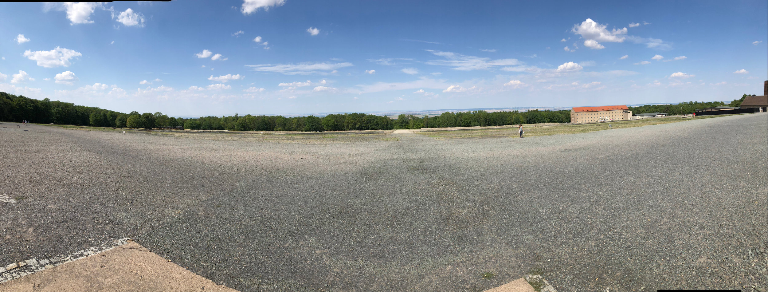 Panoramic of Buchenwald