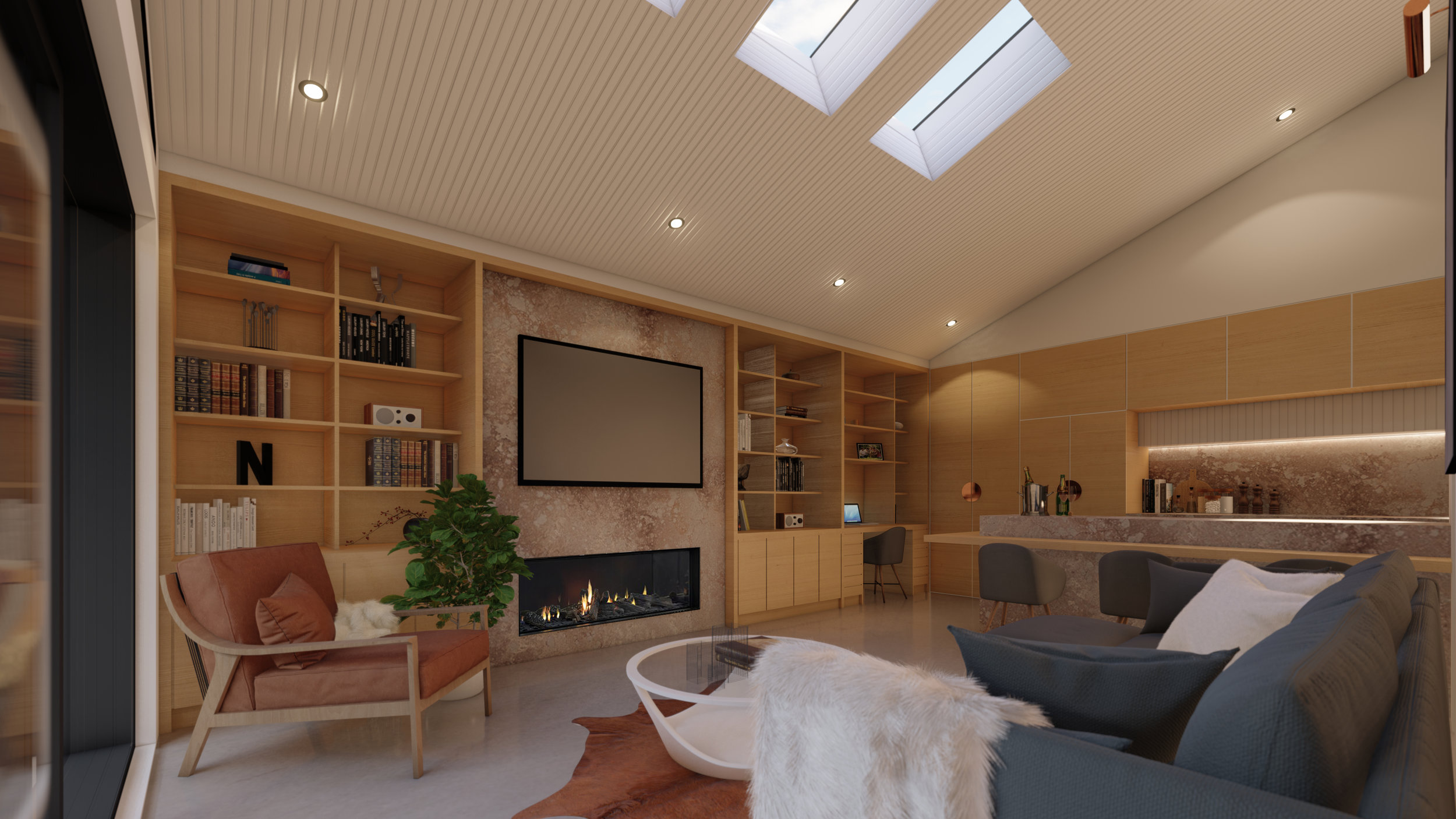 Interiors designed with a choice of differing in palettes *Artists impression