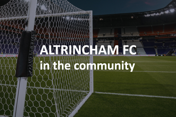 Altrincham FC in the community