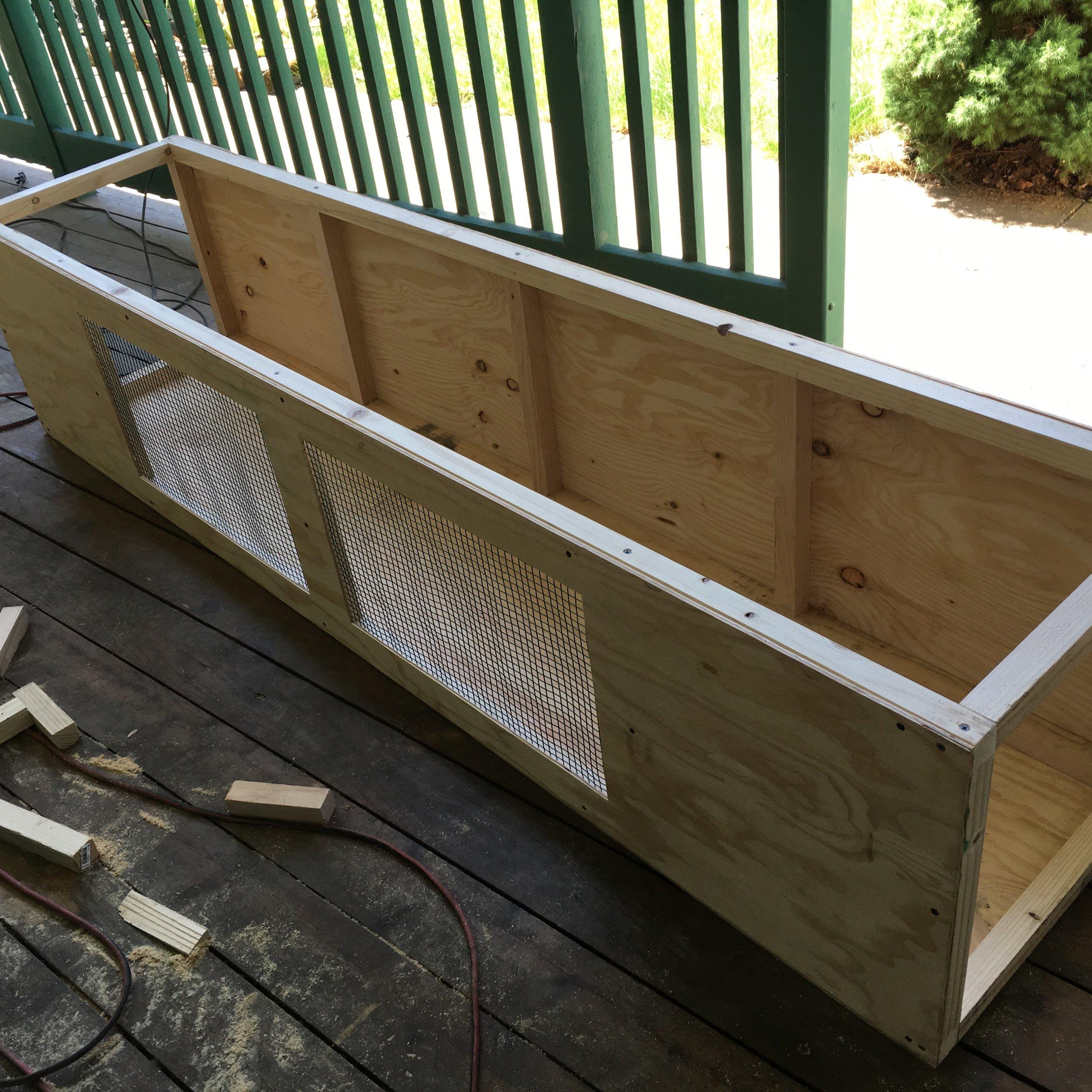Frame is built