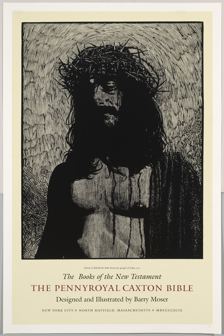 New Testament Poster — Barry Moser—Pennyroyal Press