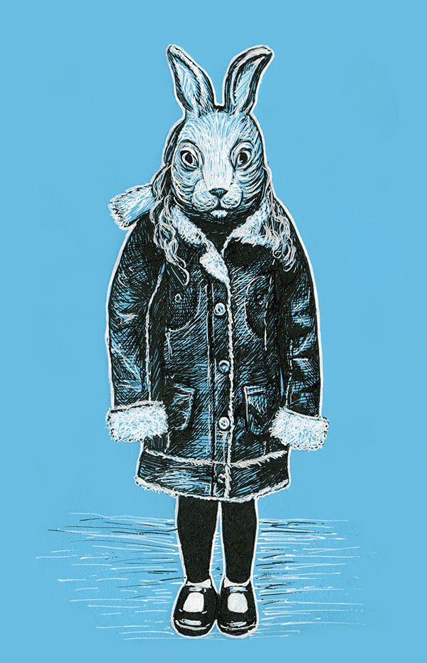 Winter White Rabbit