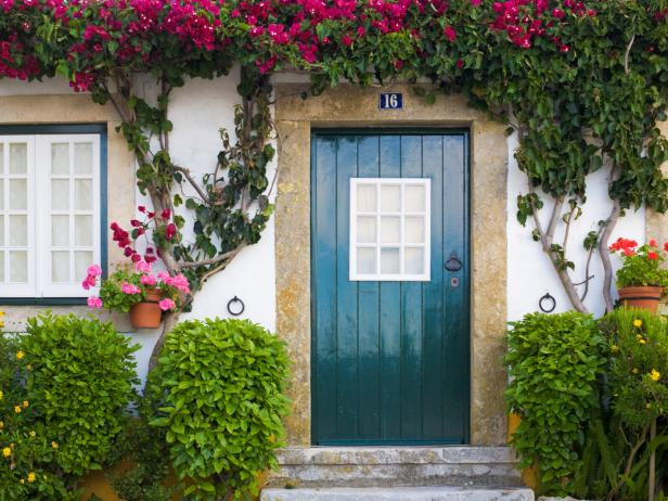 Paint Your Door - Of all of the projects I came up with, this one is probably the easiest but most impactful. Whether your style is neutral, bold, or bright; freshening up the color of your front door is a fun change.