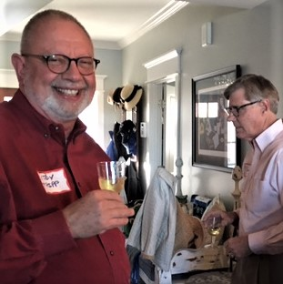 Newcomers Reception 2017 - Roy and Barney.jpg