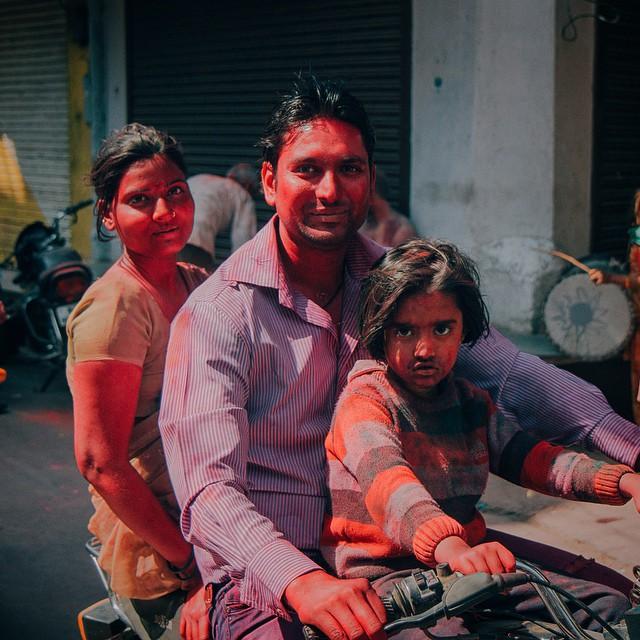 Faces of Holi #Pushkar #Holi #HoliFestival #India #festivalofcolour #Canon70D #VSCO