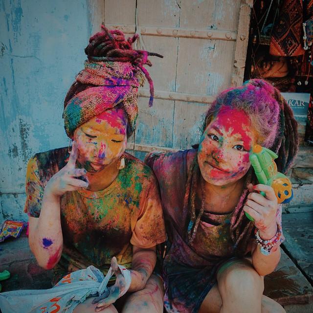 Faces of Holi #Pushkar #Holi #HoliFestival #Culture #festivalofcolour #India #SonyRX100 #VSCO