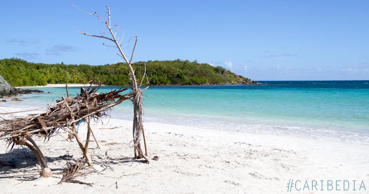Playa de la Plata, Vieques Island, PR  AKA Silver Beach, Orchid Beach