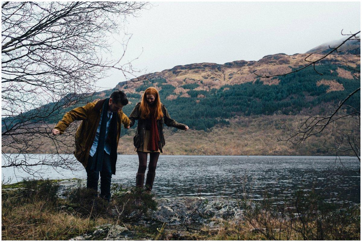 Loch Lomond Engagement Shoot - Euan Robertson Photography_016.jpg