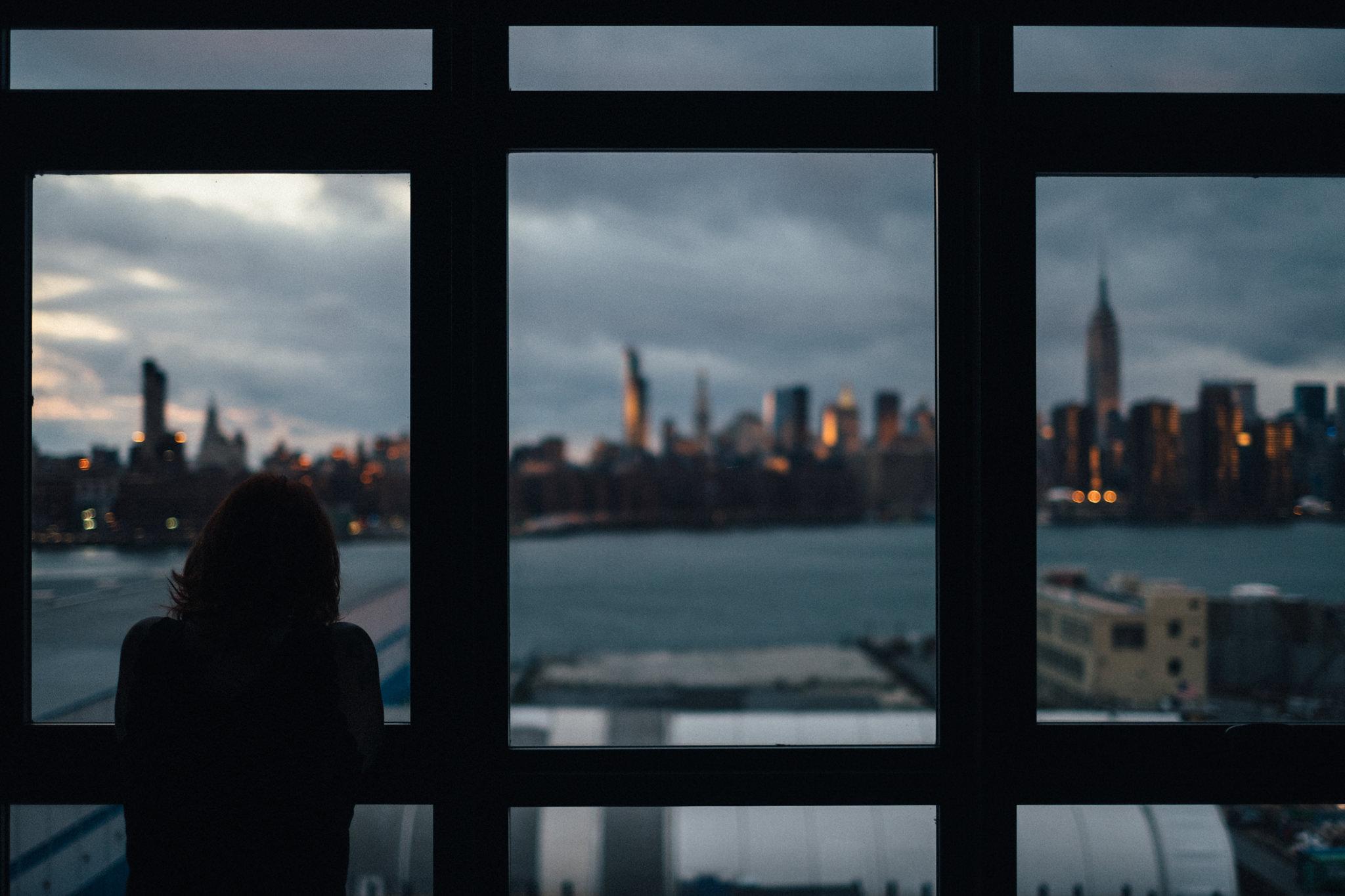 Manhattan from our hotel windown