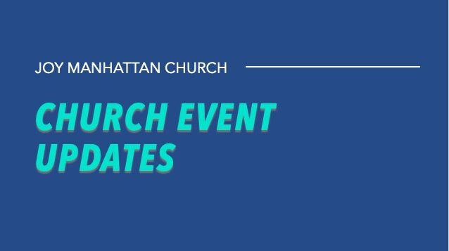 Upcoming Events Stacked Joy Manhattan Church