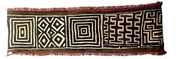 African Kuba Cloth