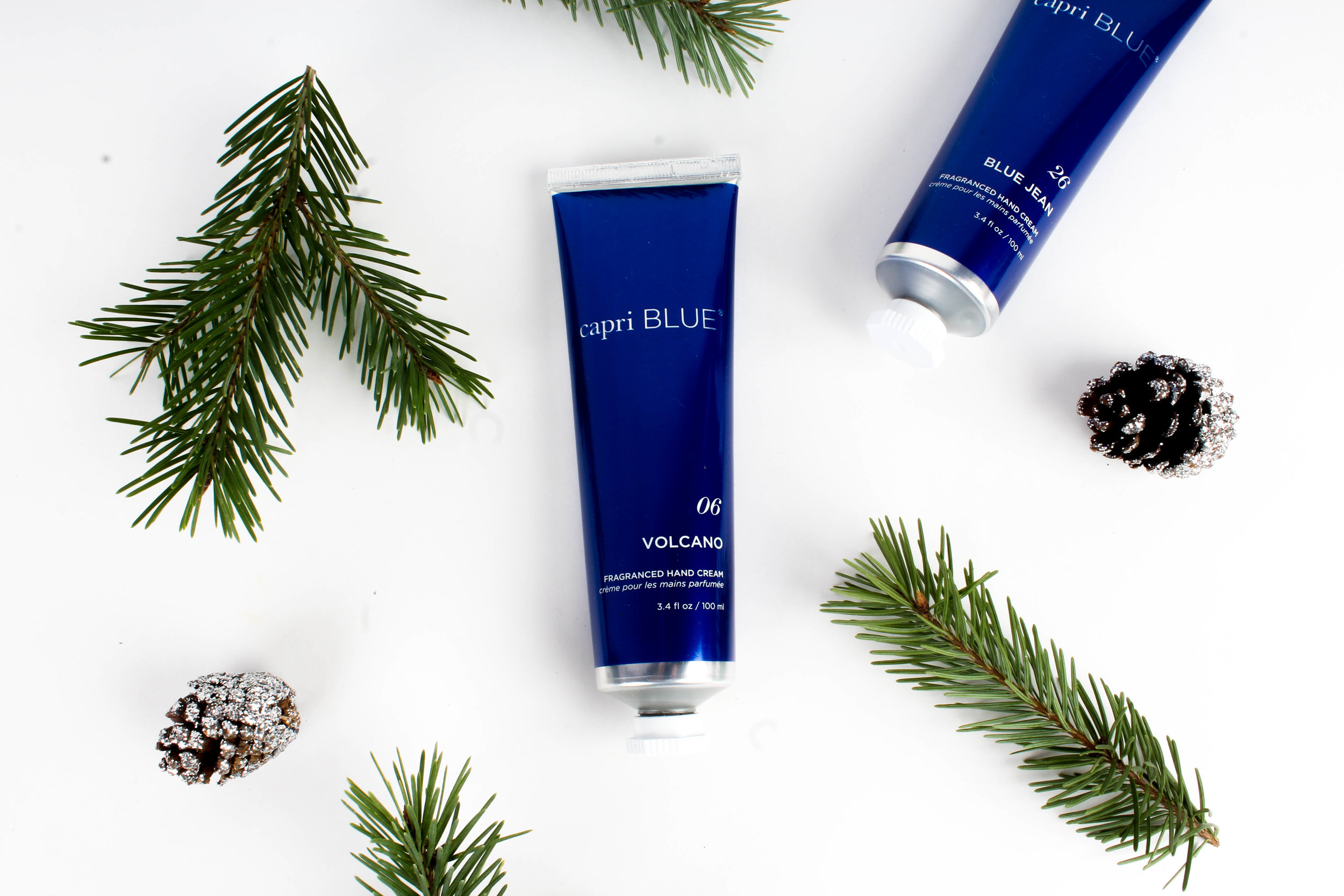 Hand Cream: Available in Volcano and Blue Jean $18