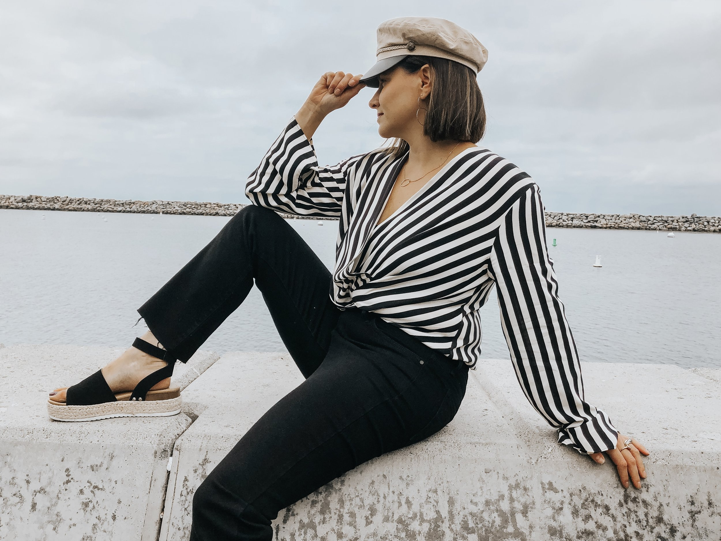 HATS ON HATS ON HATS - Now we all know doing your hair every morning is the WORST. This year, we are overcoming the greasy mess with a stylish hat. Not only does it save time on styling the 'Do, but also adds some flavor to your outfit