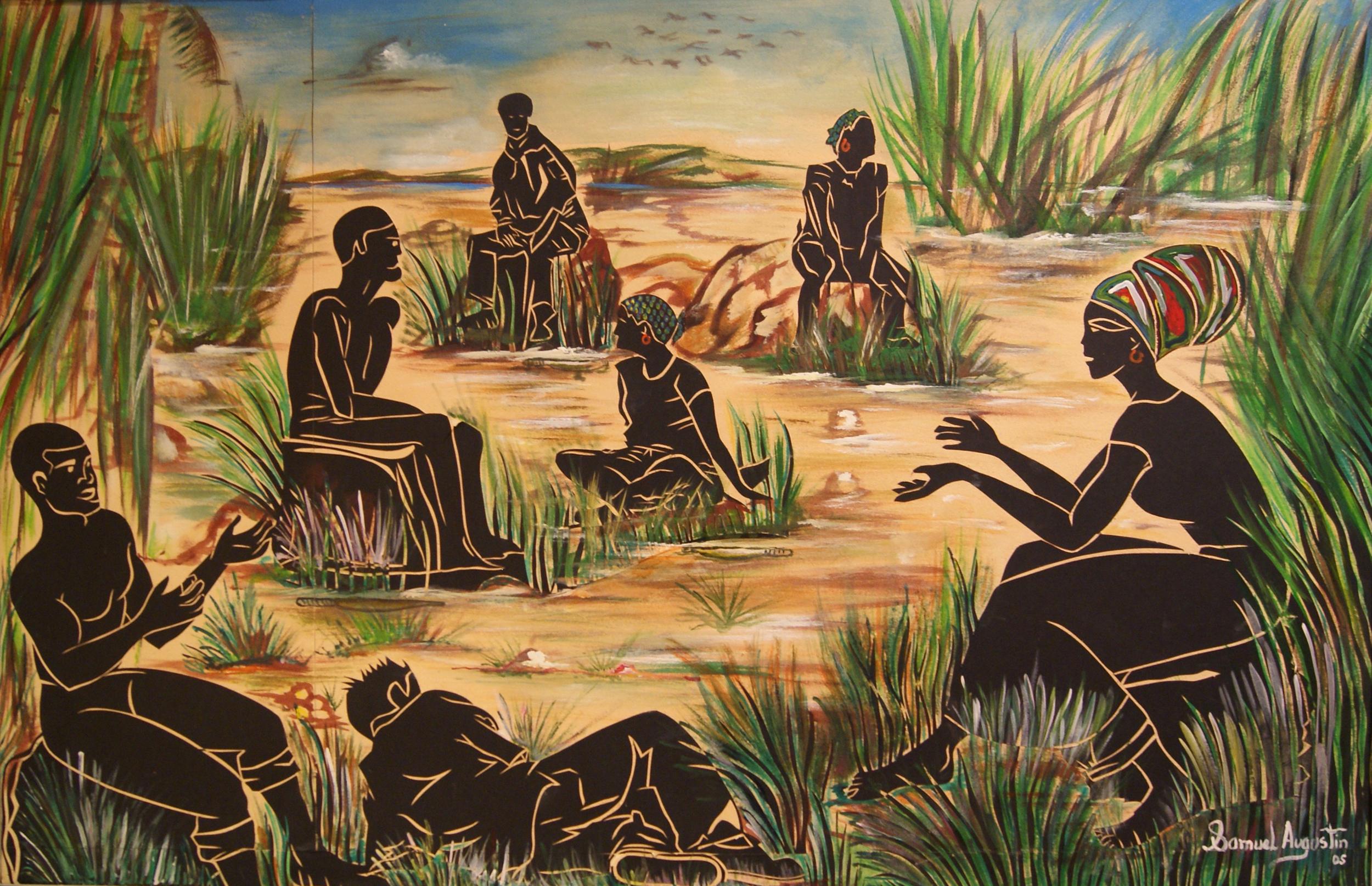 11 - Conversation by Samuel Augustin