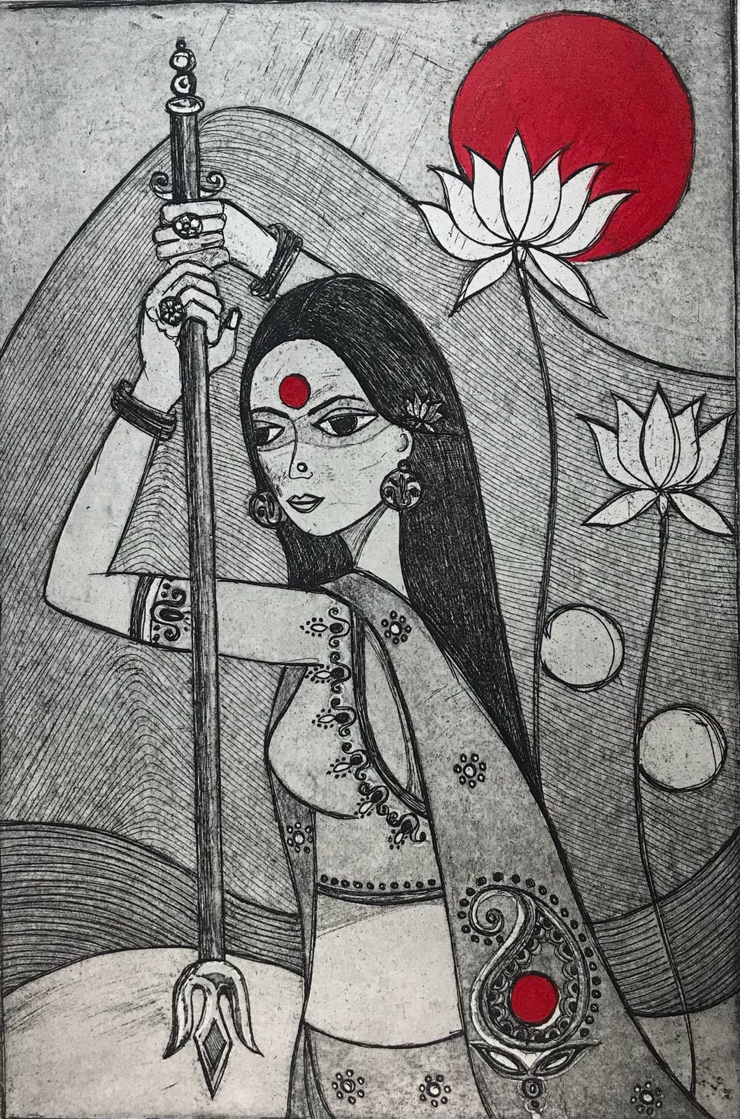 Anshula Tayal - Kali...The Woman Warrior.jpeg