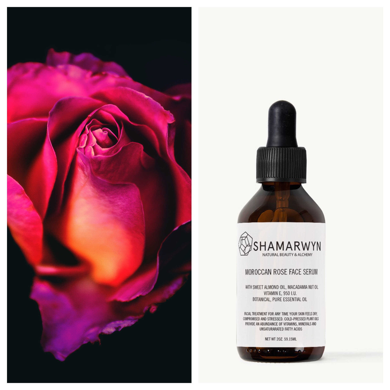 Moroccan Rose Face Serum  (buy now  )