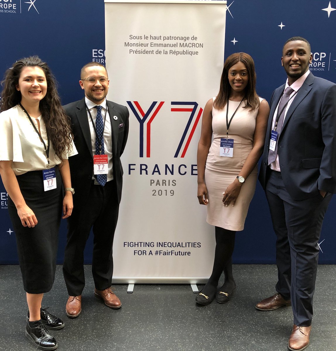 Y7 Delegation France 2019