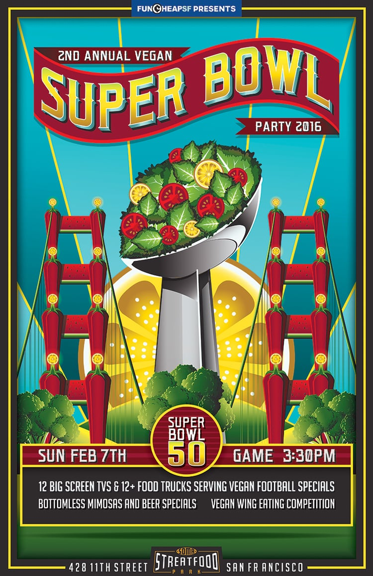 Vegan Super Bowl 2015