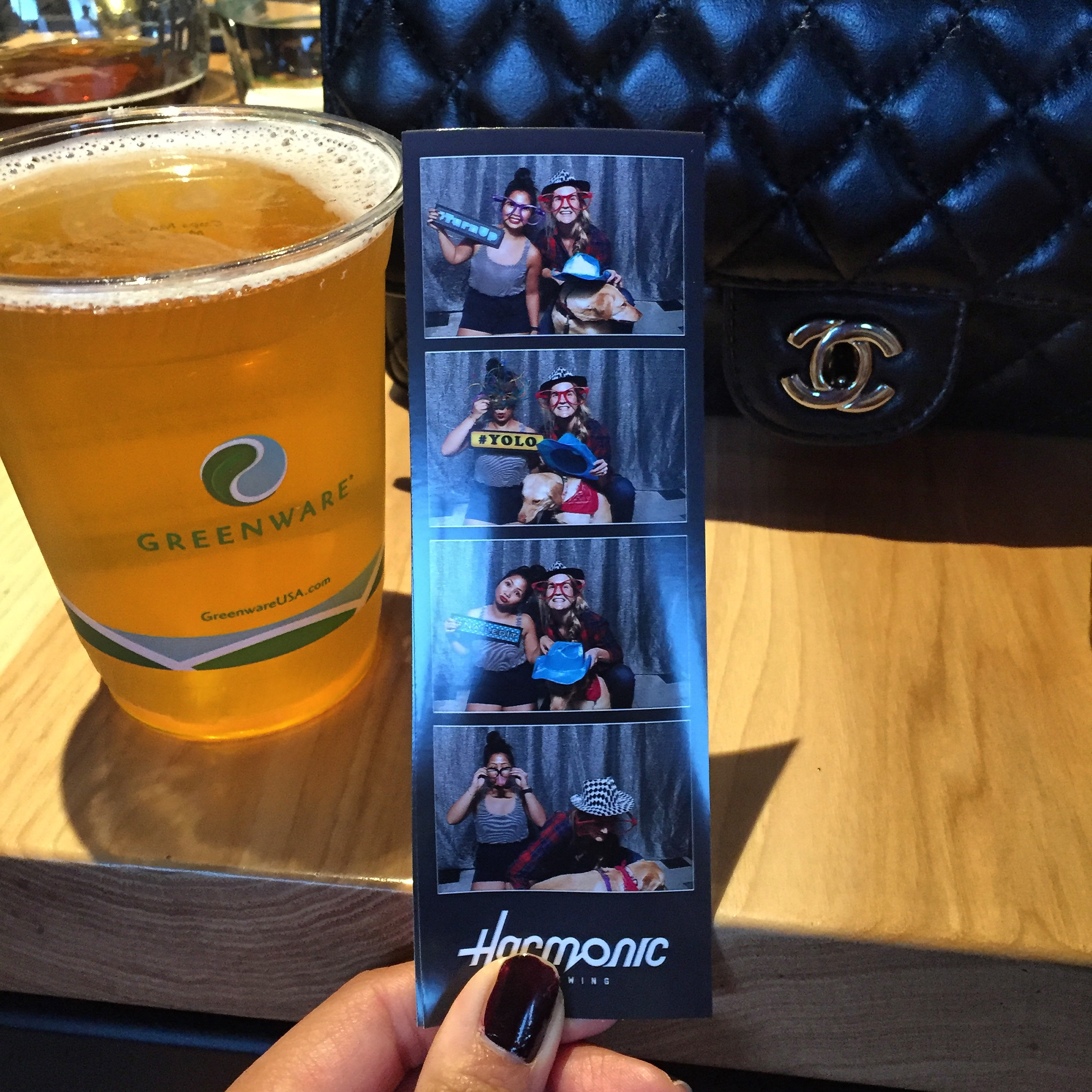 Chanel, beer & photobooth