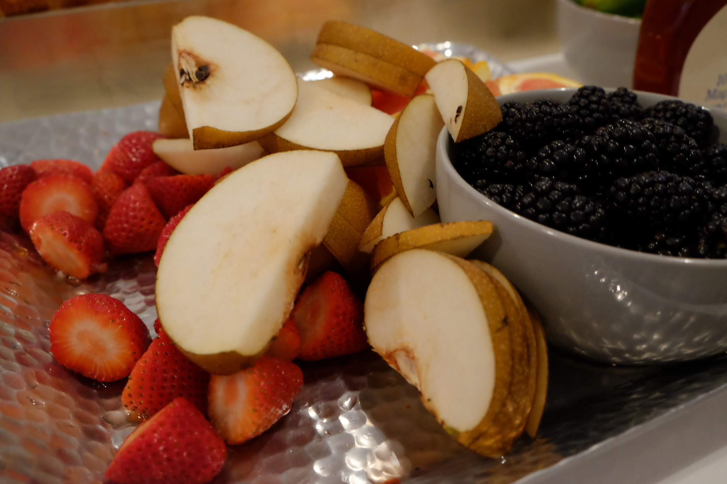 Fruit Plate // Photo Credit: Cesar Fabello