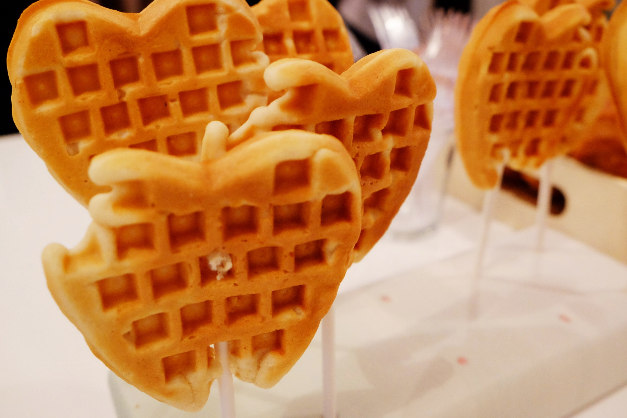 Waffle pops! // Photo Credit: Cesar Fabello