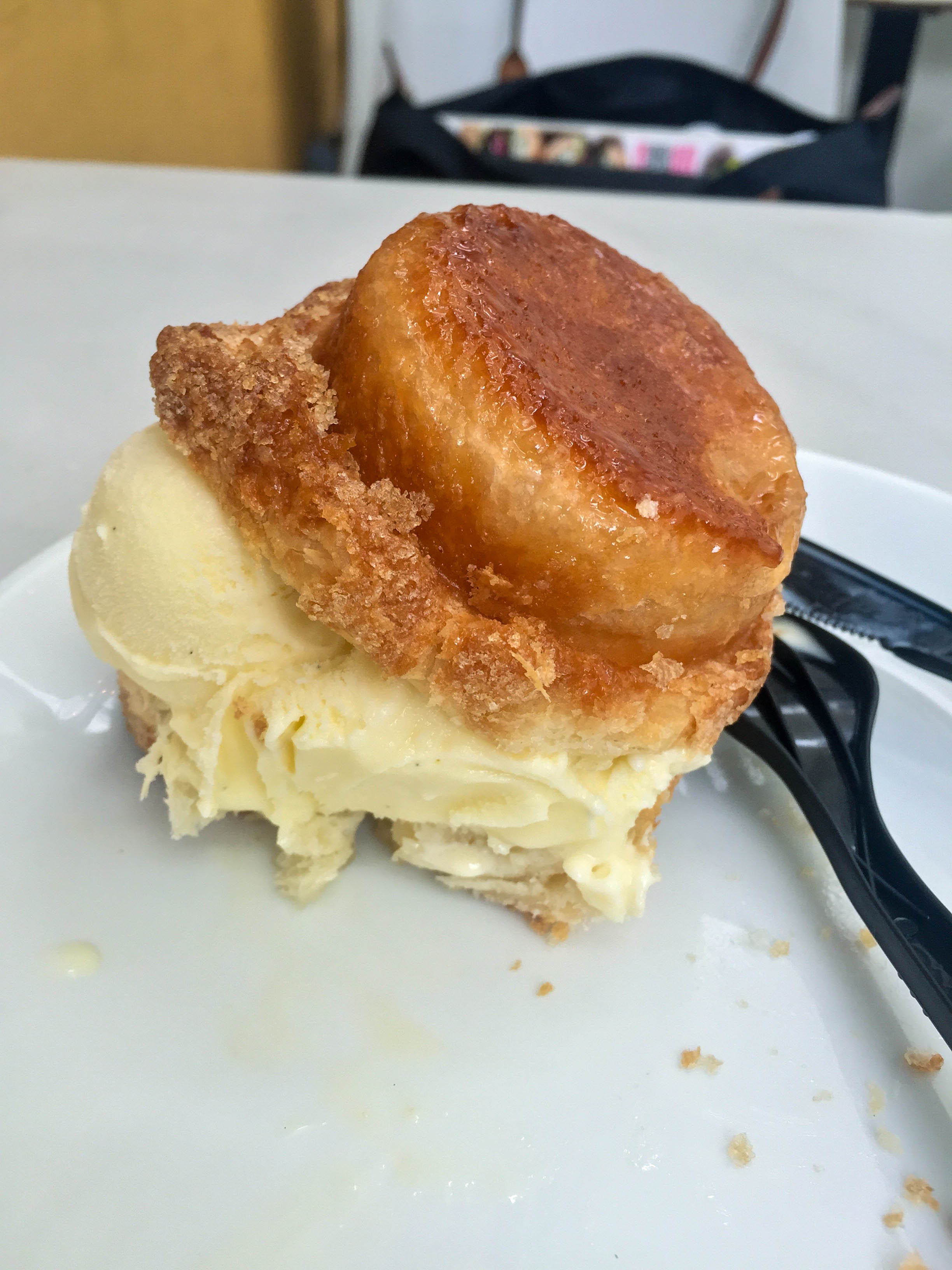 Delicious! I ate it for breakfast. I mean it was lunch already in NYC. Whatever  Photo Cred: The Buttery Existence