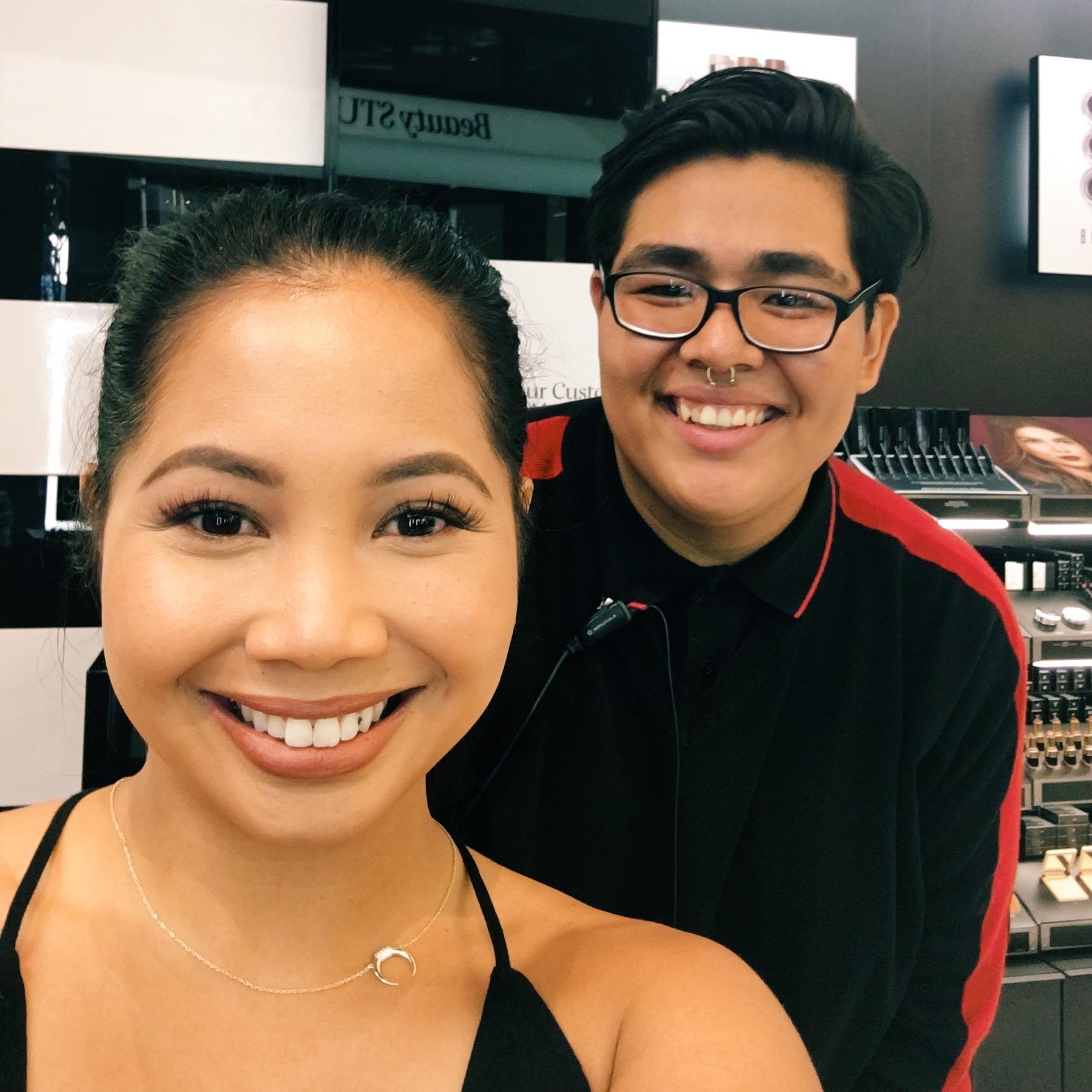 Paul & I at Sephora (P