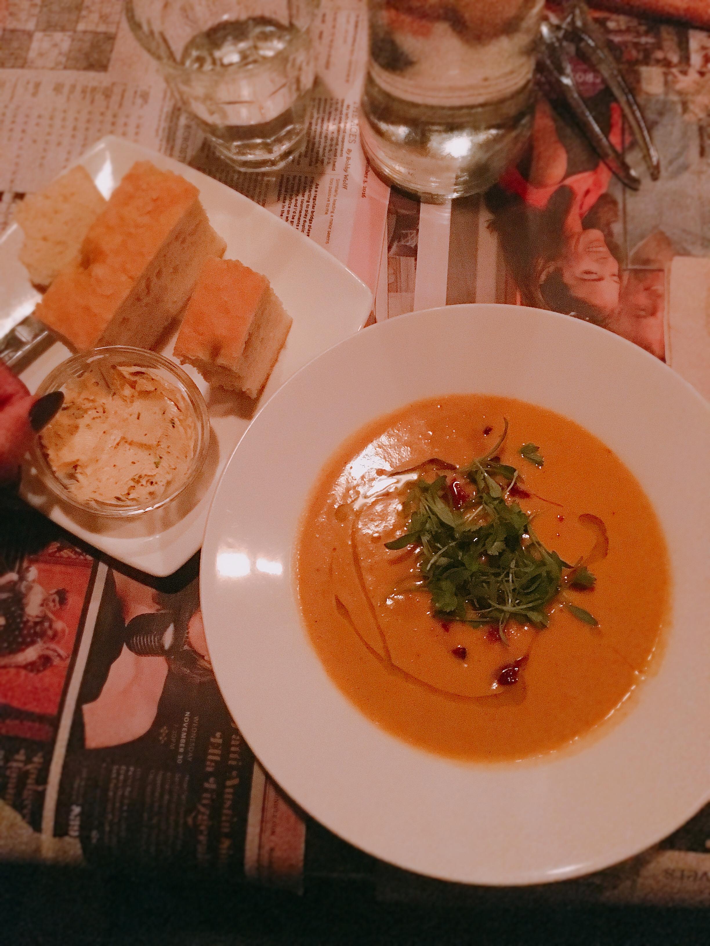 Focaccia Bread & Soup