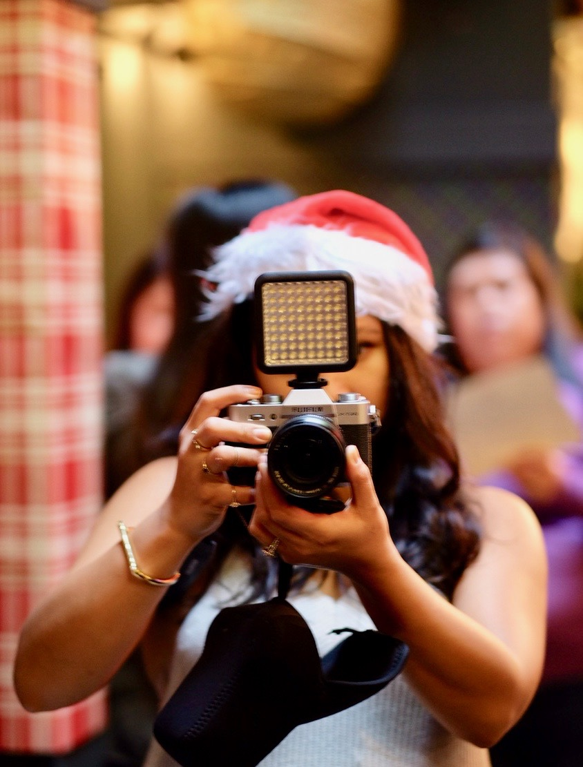 Capturing the holiday spirit // Photo Credit: Cesar Fabello
