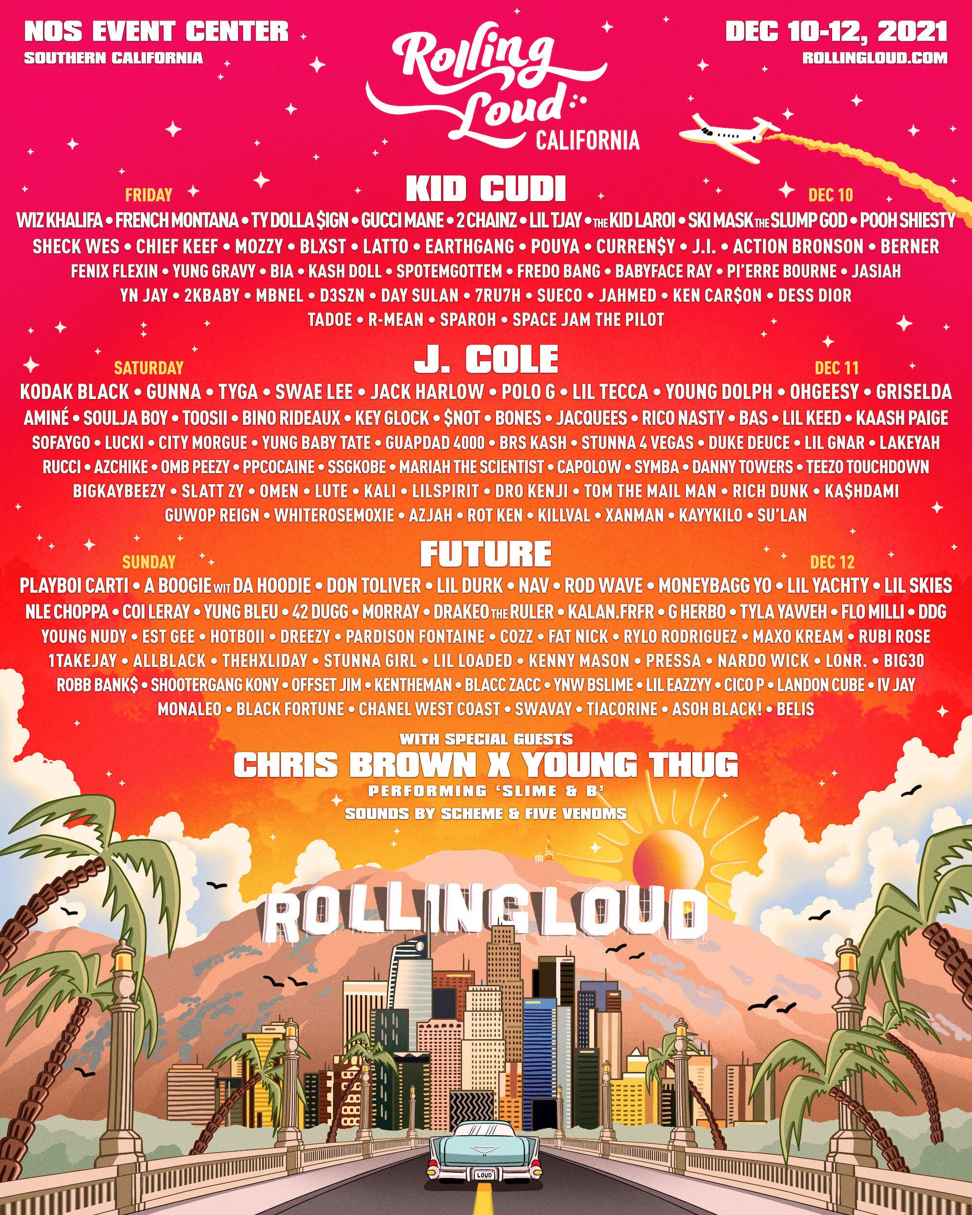 rolling loud lineup 2021