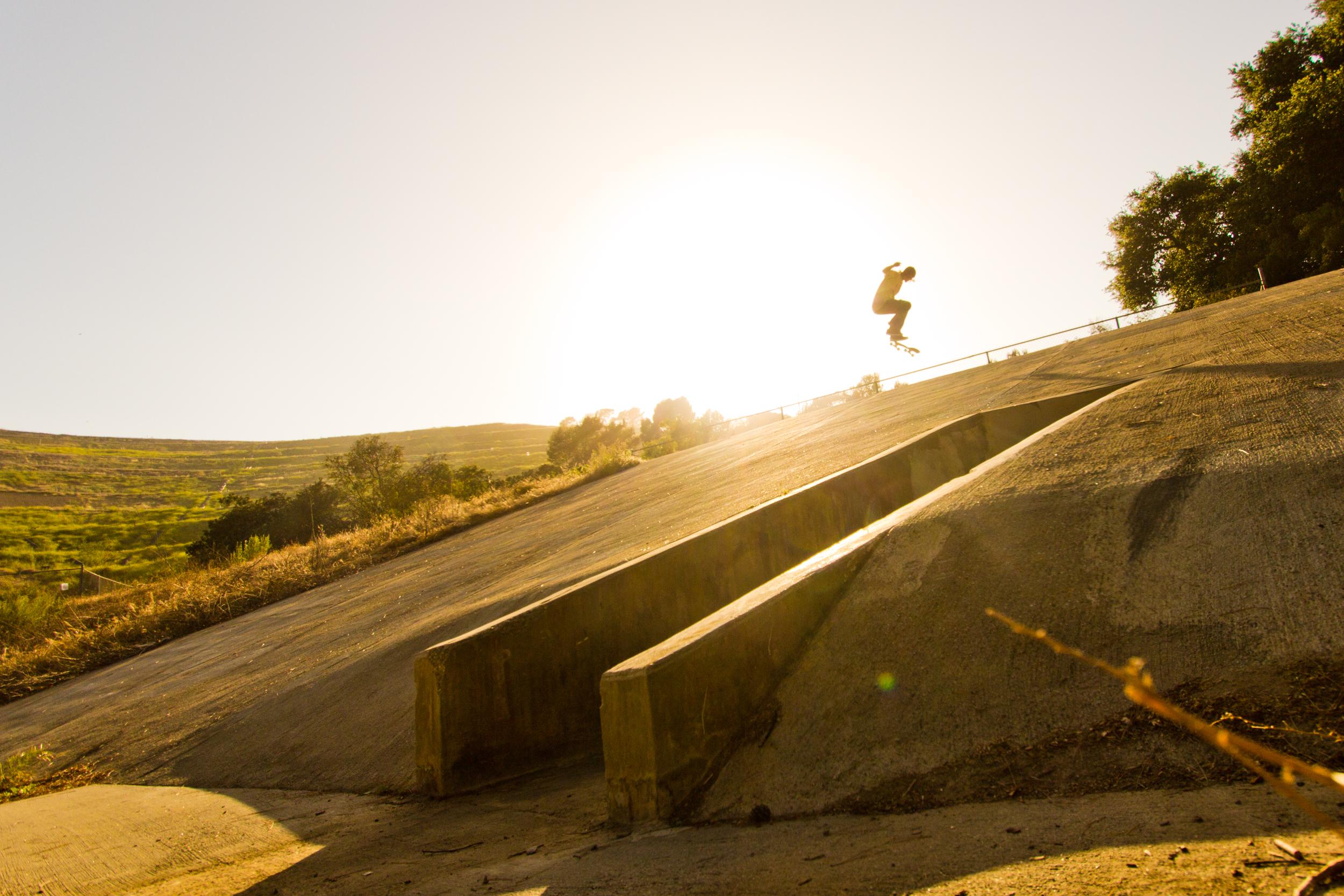 Kev - Fakie Flip, Griffith Park CA